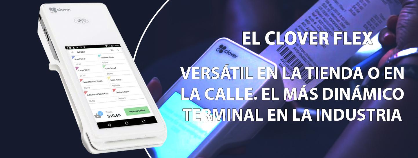 Clover Flex terminal Puerto Rico