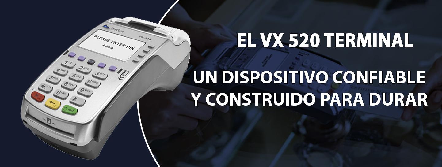 VX 520 terminal en Puerto Rico