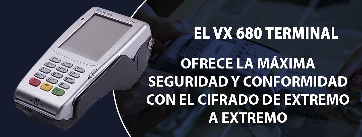 VX 680 terminal